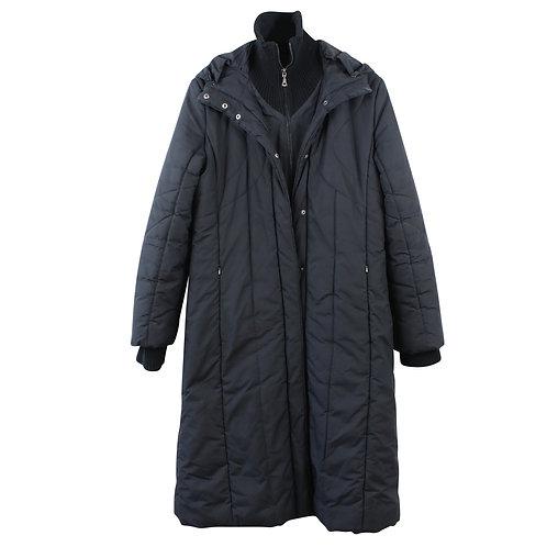 L | MANGO מעיל פוך ארוך