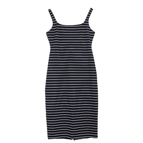 L | American Apparel שמלת פסים