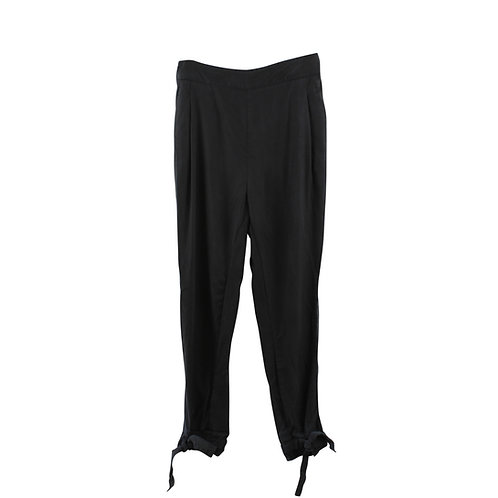 L | LITTLE STREET 'מכנסי קשירה עם גומי פיץ