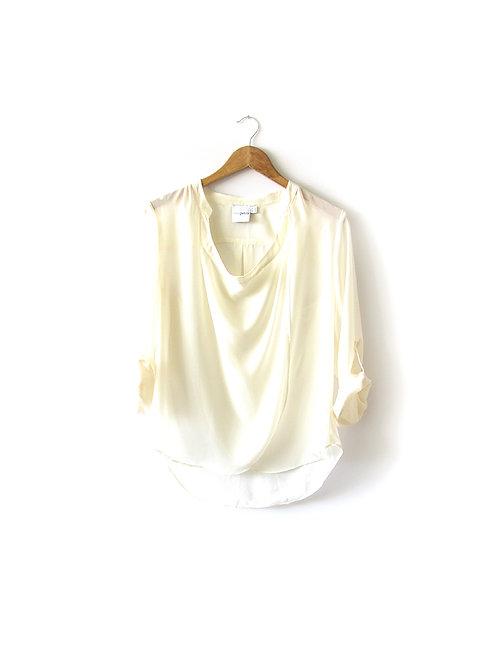 חולצת שיפון מעטפת מידה 38