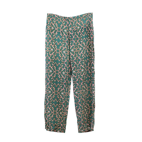 M   SACK'S מכנסיים עם הדפס