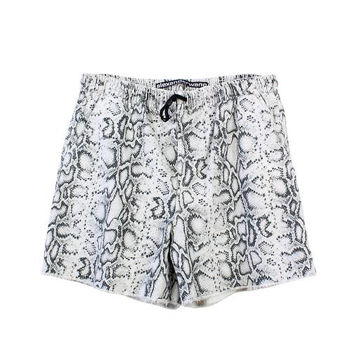 L | ALEXANDER WANG Printed Jogger Shorts