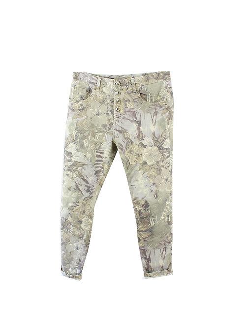 L | R JEANS מכנסי כותנה טרופיים