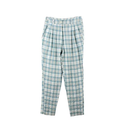 M | SARAH BRAUN  מכנסיים משובצים