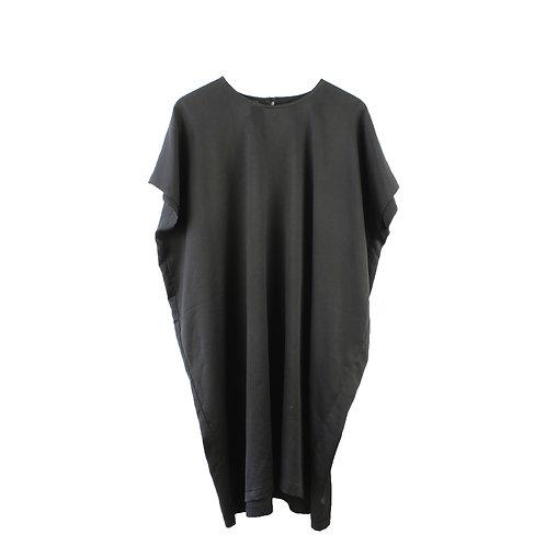 OS | KAV שמלת עטלף שחורה