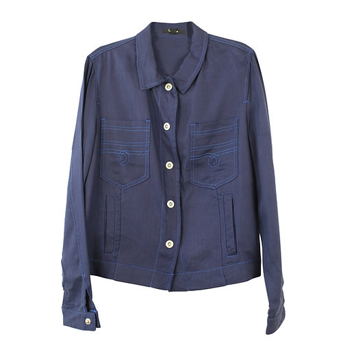 M   חולצת ג׳קט קרייזי ליין