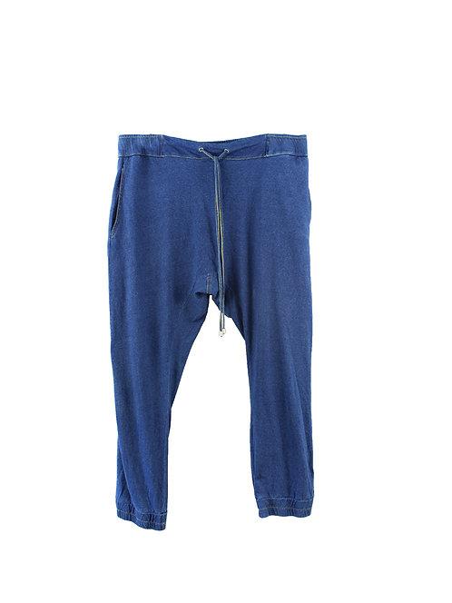 L |  מכנסי באגי עם כיסים