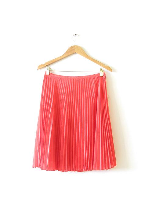 חצאית פליסה קורל מידה 42