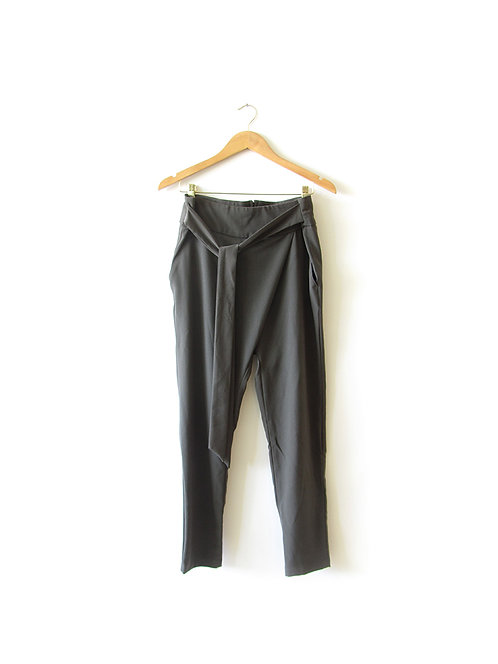 מכנסיים עם קשירה מידה 38