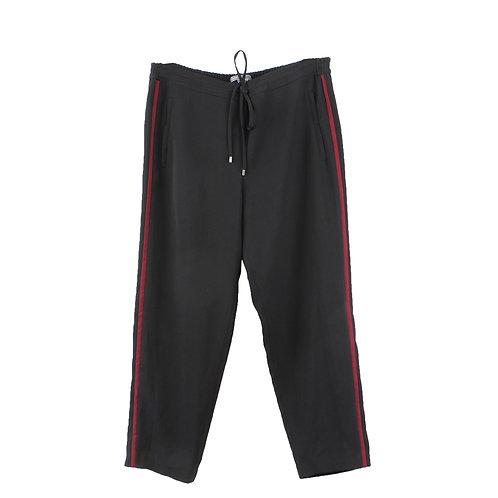 L | VINCE מכנסי פסים בצד
