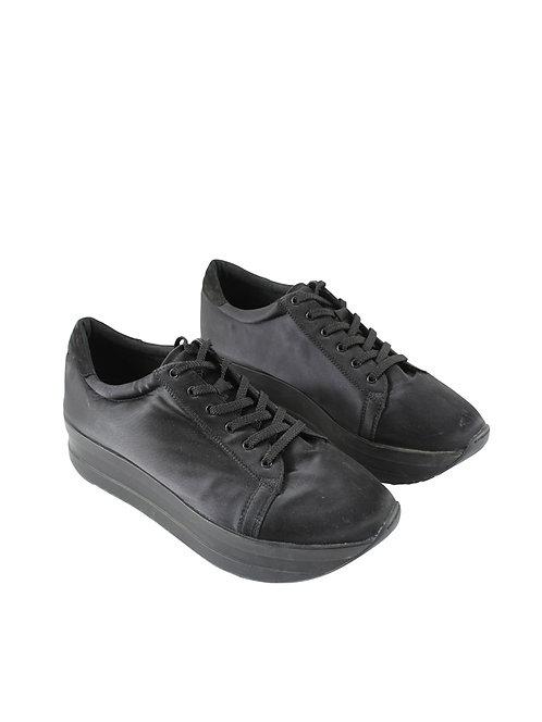 40 | VAGABONO נעלי פלטפורמה עם שרוכים