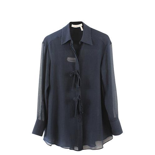M | See By Chloe חולצת שיפון כחולה