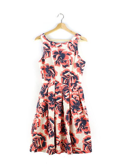 S ANTHROPOLOGY שמלה פרחונית