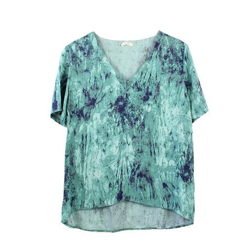 S | American Vintage חולצת ויסקוזה צבעים