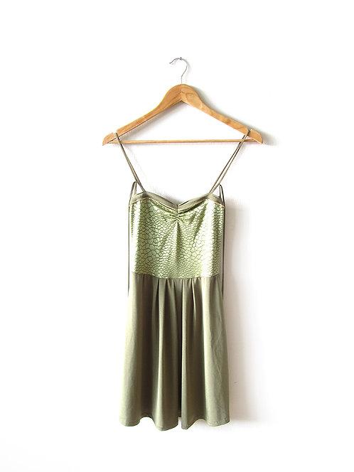 1 שמלה ירוקה מידה