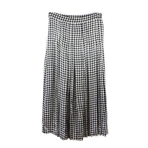 M   ZARA חצאית שחור לבן