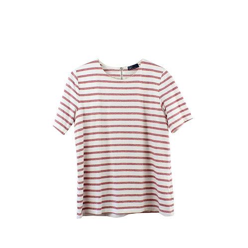M | GAP חולצת פסים ורוכסן