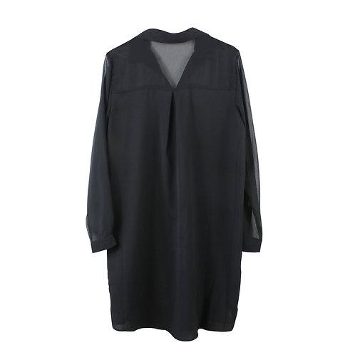 M | RAMILEE  שמלת שיפון הריון