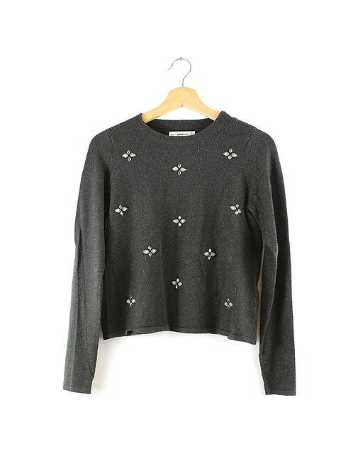 S סוודר מתוכשט