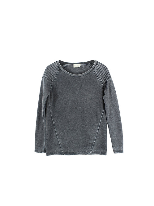 S | American Vintage חולצת סוויטשרט מלאנז׳