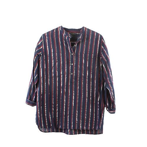 M  | J CREW חולצת פסים