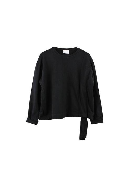 M/L | Little Street סווטשירט תעלה שחור
