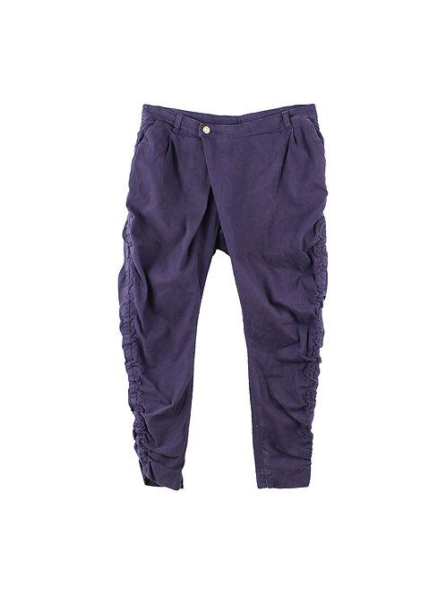 29 | manila grace מכנסי קורדרוי סגולים