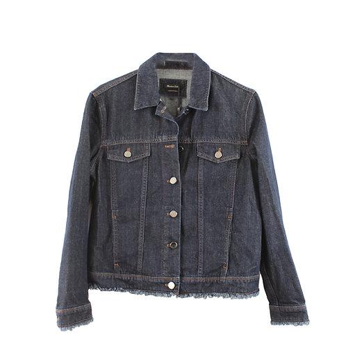 M\L | Massimo Dutti ג׳קט ג׳ינס כהה