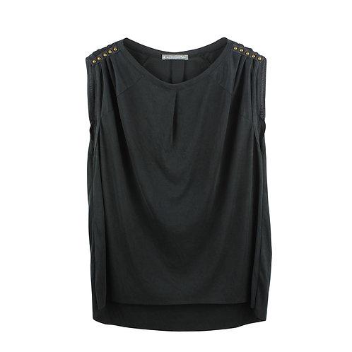 Heartbreaker חולצת ניטים | S