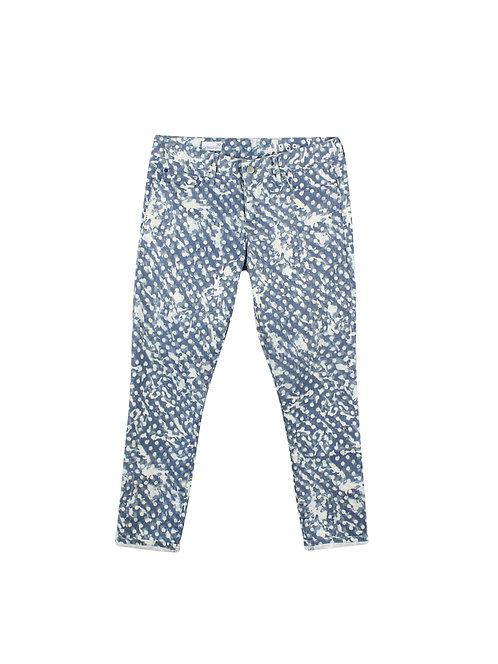 30 | GAP ג'ינס כתמים כחול לבן