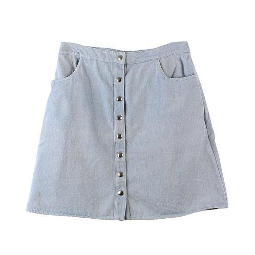 M | Tali Imbar חצאית ג׳ינס מכופתרת