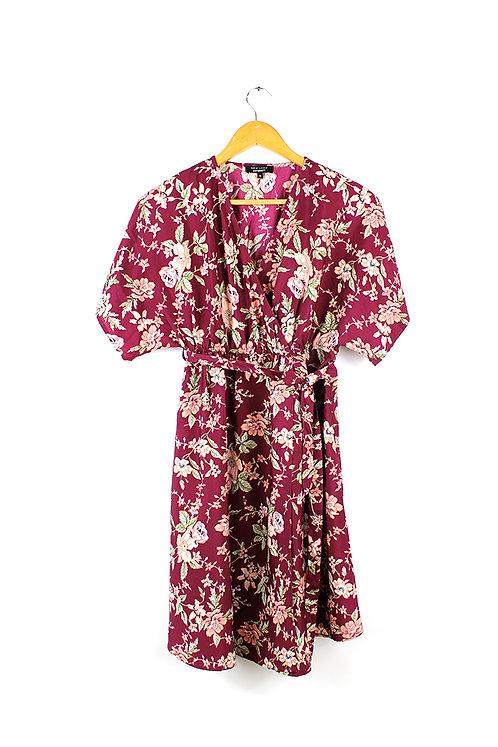 שמלת הריון פרחונית- 40