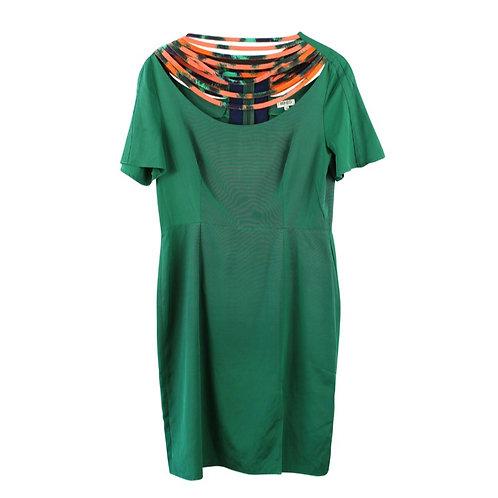 M | KENZO שמלה ירוקה קולר