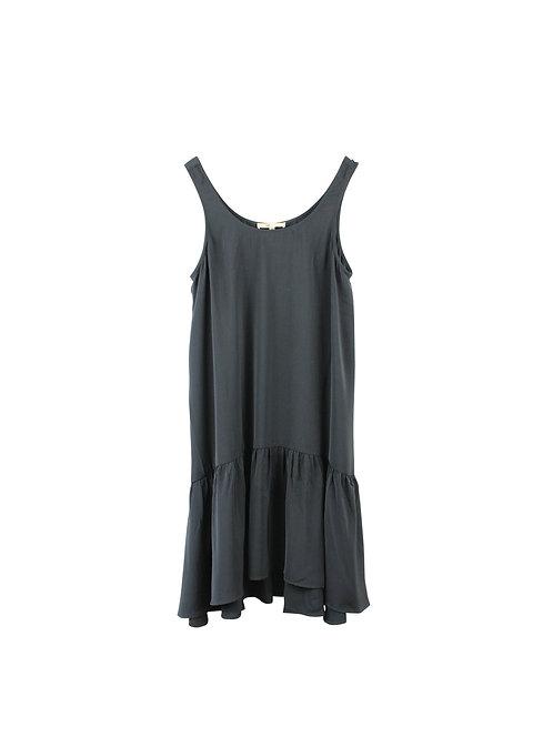 M    שמלת פפלום שחורה