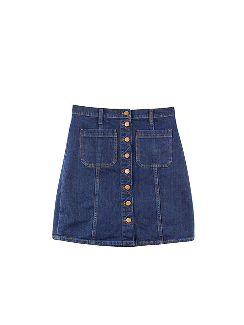 28 | Madewell חצאית ג׳ינס