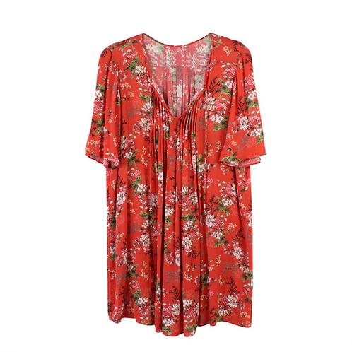 M/L | שמלה פרחונית ויסקוזה