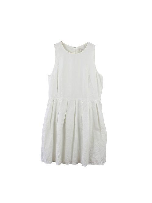 L   GAP שמלת פשתן כיסים