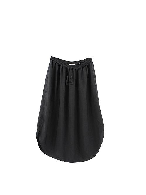 S | חצאית מידי שחורה