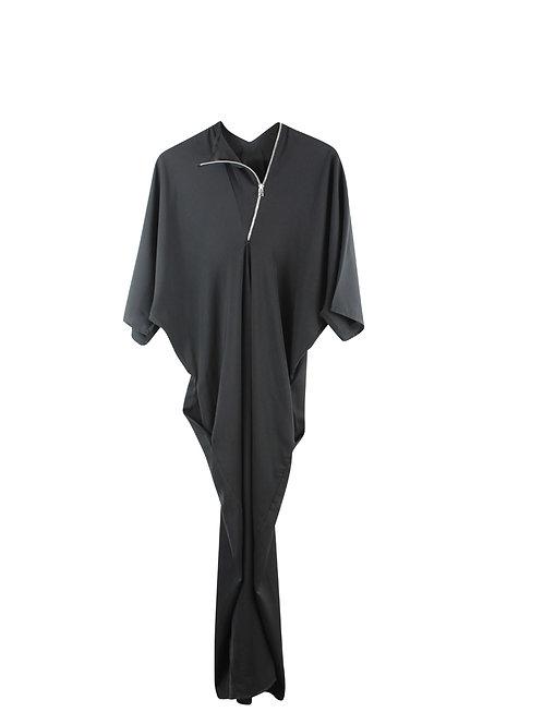 OS   RIMA ROMANO שמלת מקסי עם רוכסן