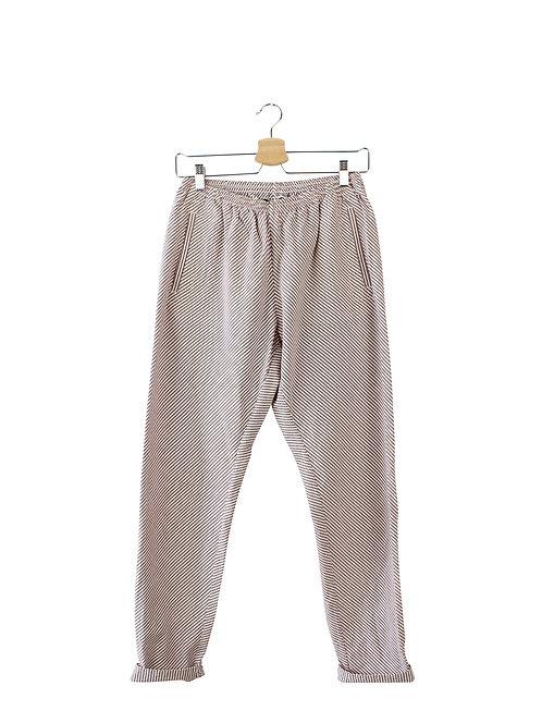 M -A.P.C מכנסי פסים ארוכים