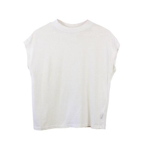 S\M | CHEAP MONDAY חולצת בוקס לבנה