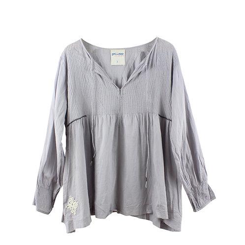 S | gallabia חולצת גלביה אפורה
