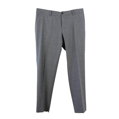 L | Chloe' Stora מכנסיים אפורים מחוייטים