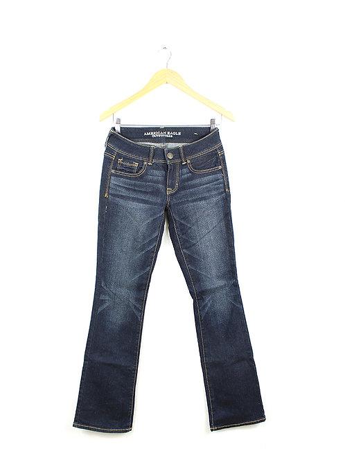 36- ג'ינס כהה בוט קאט