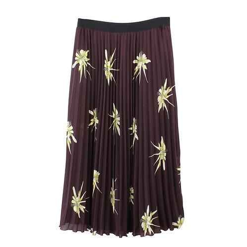 XL | H&M חצאית מקסי פליסה