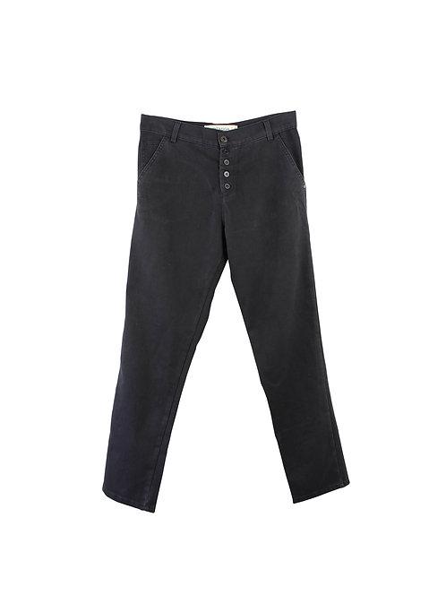 L | HAGITASSA מכנסי כפתורים עם טיקט