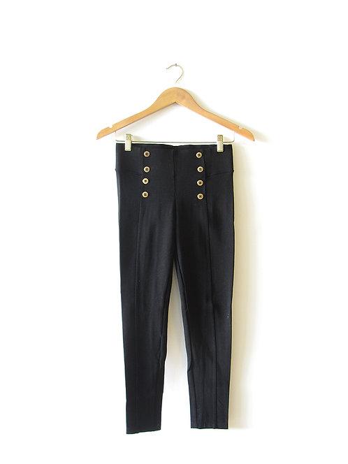 S מכנסי- טייץ כפתורי זהב