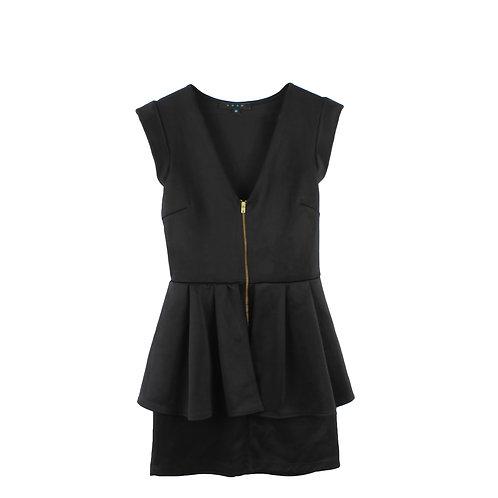 S |  שמלת מיני שכבות