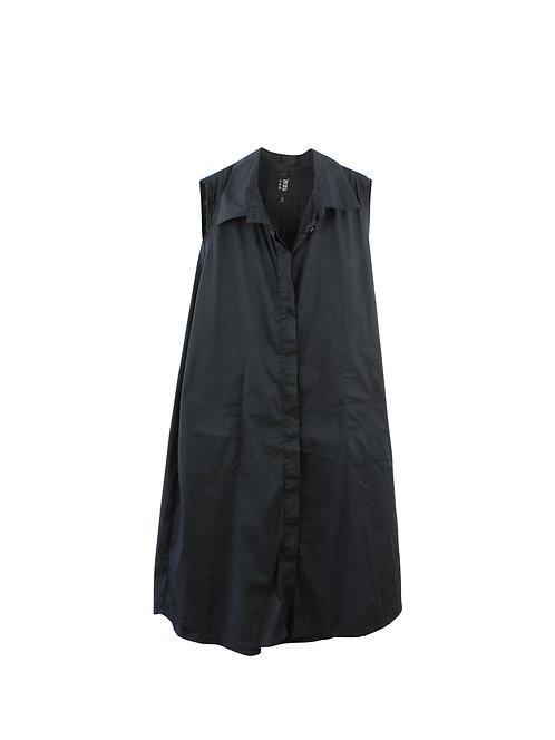 L | ONNANOKO שמלת כיסים שחורה