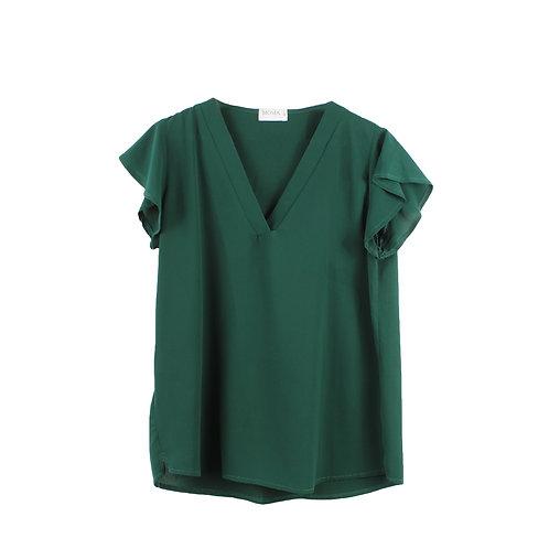 M | MOMA חולצת גלי ירוקה